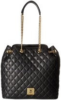 Love Moschino I Love Superquilted Bucket Bag