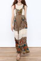 Ryu Paisley Print Maxi Dress