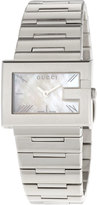 Gucci G-Rectangle Stainless Steel Watch, White