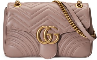Gucci GG Marmont medium matelasse shoulder bag