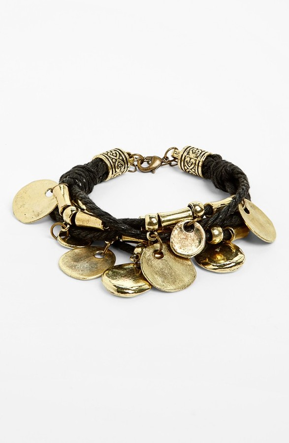 Cara Couture Multistrand Charm Bracelet