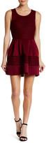 Trixxi Scuba Textured Dress (Juniors)