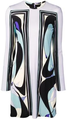 Emilio Pucci Alex Print Wool Dress