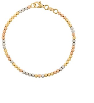 Carolina Bucci 18kt white, yellow and rose gold Disco Ball bracelet