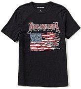 True Religion Land Of The Free Americana Short-Sleeve Graphic T-Shirt