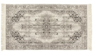 """French Connection Montana Vegetable Dyed Cotton 30"""" x 50"""" Accent Rug Bedding"""