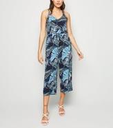 New Look AX Paris Tropical Culotte Jumpsuit