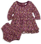 Splendid Baby's Floral Long Sleeve Dress & Bloomer Set