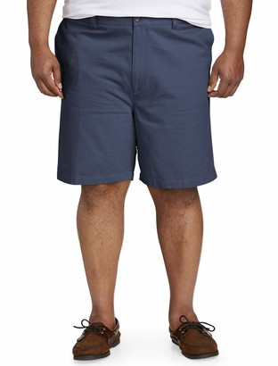 Amazon Essentials Men's Big & Tall Flat-Front Short
