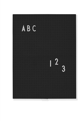 Design Letters Decorative Message Board Black (Letters and Numbers Sold Separately)