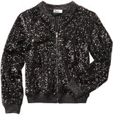 Epic Threads Sequin Bomber Jacket, Big Girls (7-16), Created for Macy's