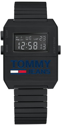 Tommy Jeans Digital Stretch Bracelet Watch, 32.5mm x 42mm