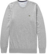 Lacoste - Slim-fit Knitted Cotton Sweater