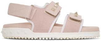 Valentino Pink Garavani Rockstud Sandals