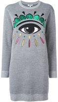Kenzo 'Eye' sweatshirt dress