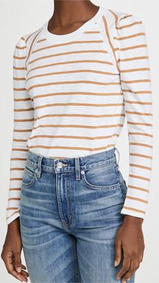 Veronica Beard Jeans Mason Baseball Tee
