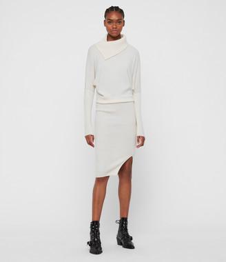 AllSaints Sofi Cashmere Blend Dress