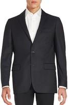 John Varvatos Star U.S.A. Long Sleeve Woolen Jacket