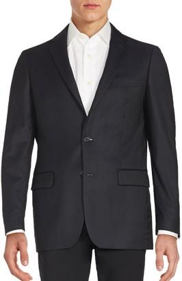 John Varvatos Long Sleeve Woolen Jacket