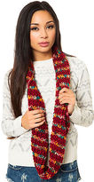 *MKL Accessories The Chunky Cable Knit Scarf in Red