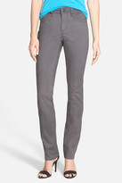 NYDJ Samantha Stretch Slim Straight Leg Jean (Petite)