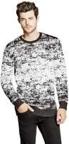 GUESS Men's Intarsia Sweater