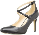 Nine West Women's Hannley Leather Dress Pump