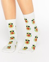 Asos Avocado Ankle Socks