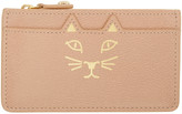 Charlotte Olympia Pink Feline Coin Purse
