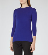 Reiss Lulia High-Neck Knitted Top