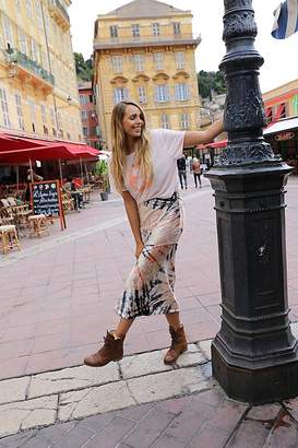 Bali Serious Swagger Tie Dye Skirt by at Free People