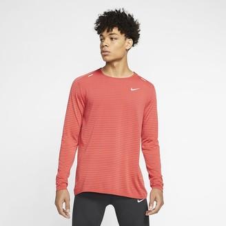 Nike Men's Long-Sleeve Running Top TechKnit Ultra