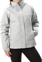 White Sierra 4-in-1 Jacket - Waterproof, Insulated (For Women)