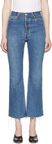 RE/DONE Re-done Blue the Leandra Jeans