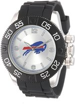 Game Time Men's NFL-BEA-BUF Beast Round Analog Watch