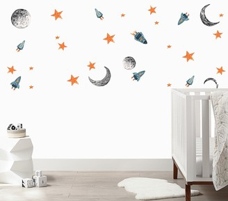 Pottery Barn Kids Urbanwalls Spaceships Wall Decals