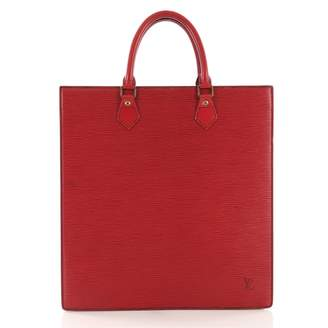 Louis Vuitton Red Leather Handbag