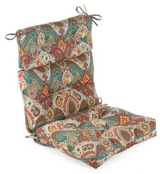 Bungalow Rose High Back Asbury Park Outdoor Seat/Back Cushion