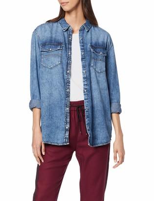 Tommy Jeans Women's Oversized Denim Shirt Vlncm Blouse