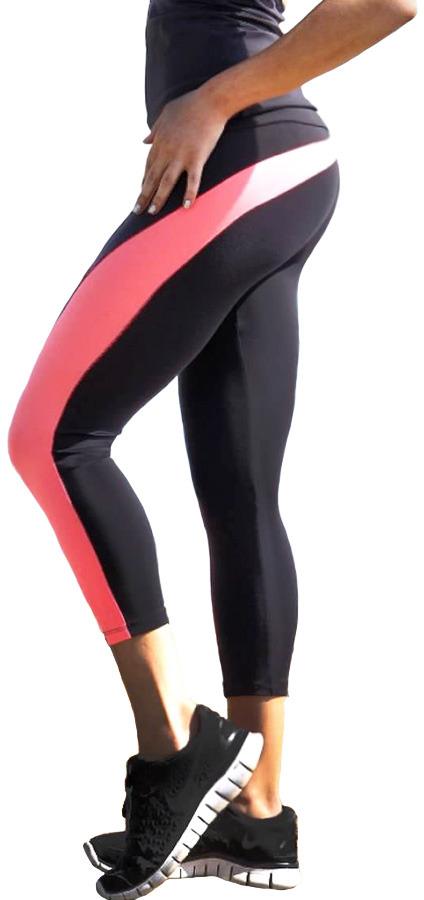 Body Angel Activewear Rainbow Capri - Final Sale