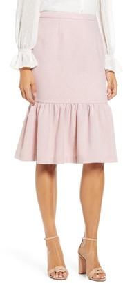 Rachel Parcell Herringbone Skirt