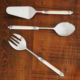 Sur La Table Decorative Ivory Handle Serving Fork
