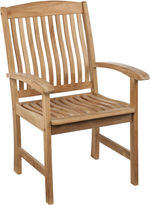 Asstd National Brand Set of 2 Bristol Outdoor Teak Armchairs