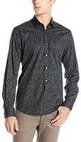 Stone Rose Men's Pixel Camo Long-Sleeve Shirt