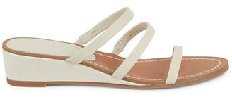 Splendid Moxie Leather Platform Wedge Sandals