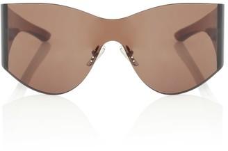 Balenciaga Mask embellished sunglasses