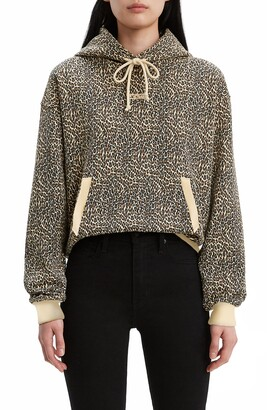 Levi's Unbasic Leopard Print Hoodie
