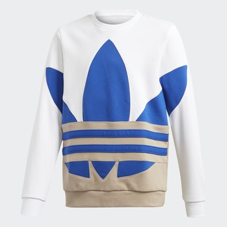 adidas Large Trefoil Crew Sweatshirt