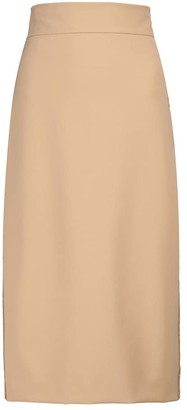 Max Mara Gervaso stretch-jersey pencil skirt