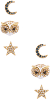 Kate Spade Women's Night Sky Stud Earrings Set